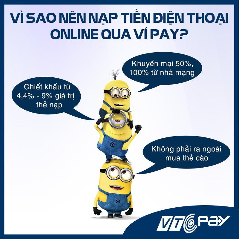 Cách nạp thẻ điện thoại Viettel bằng thẻ cào, online